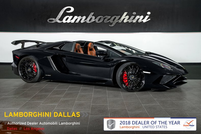 2017 Lamborghini Aventador SV Roadster For Sale