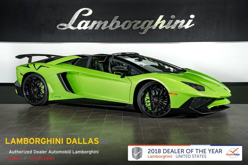 2017 Lamborghini Aventador SV Roadster For Sale