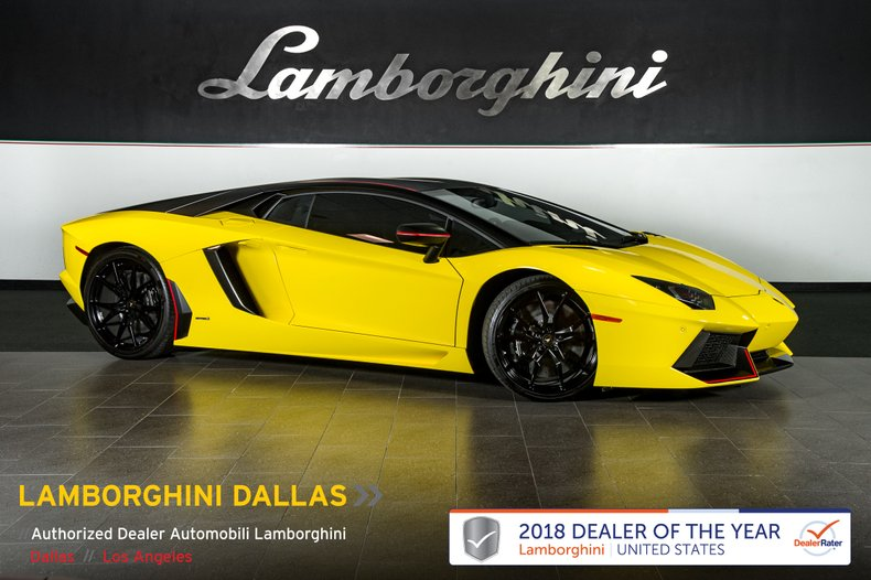 2016 Lamborghini Aventador For Sale