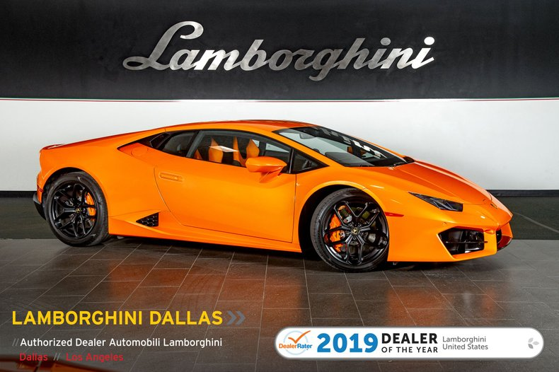 2019 Lamborghini Huracan LP580-2 For Sale
