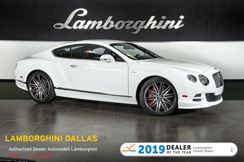 2015 Bentley Continental GT Speed For Sale