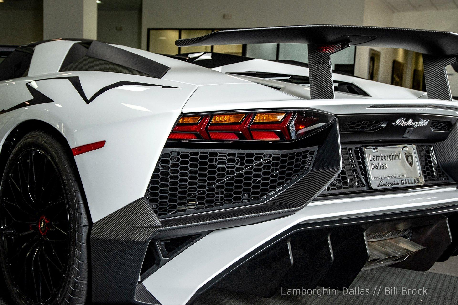 2017 Lamborghini Aventador Sv Roadster For Sale 163542 Motorious