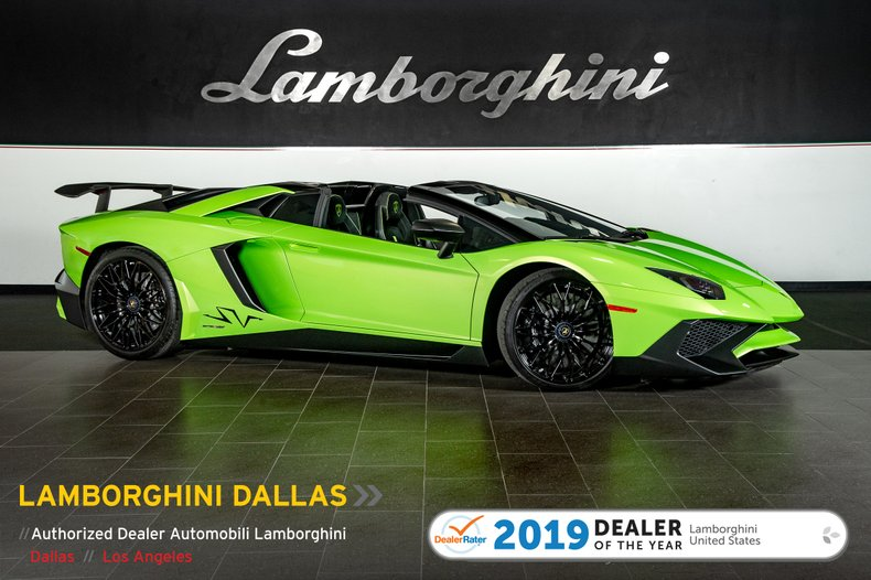 2017 Lamborghini Aventador SV For Sale