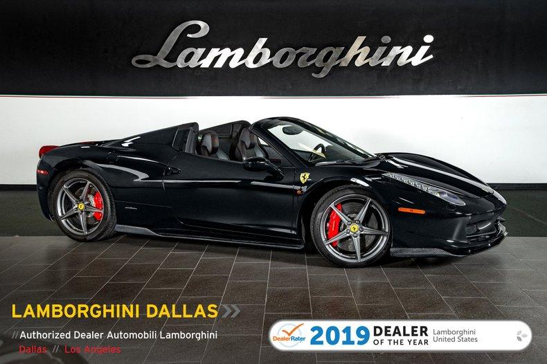 2014 Ferrari 458 Italia Spider For Sale