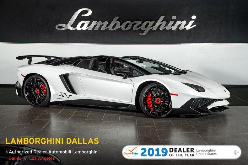 2016 Lamborghini Aventador SV Roadster For Sale