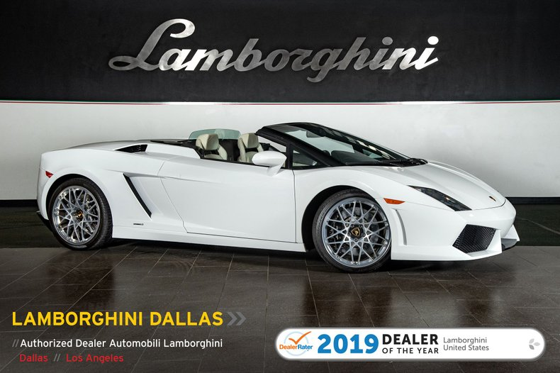 2009 Lamborghini Gallardo 560-4 Spyder For Sale