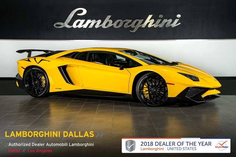 2016 Lamborghini Aventador SV For Sale