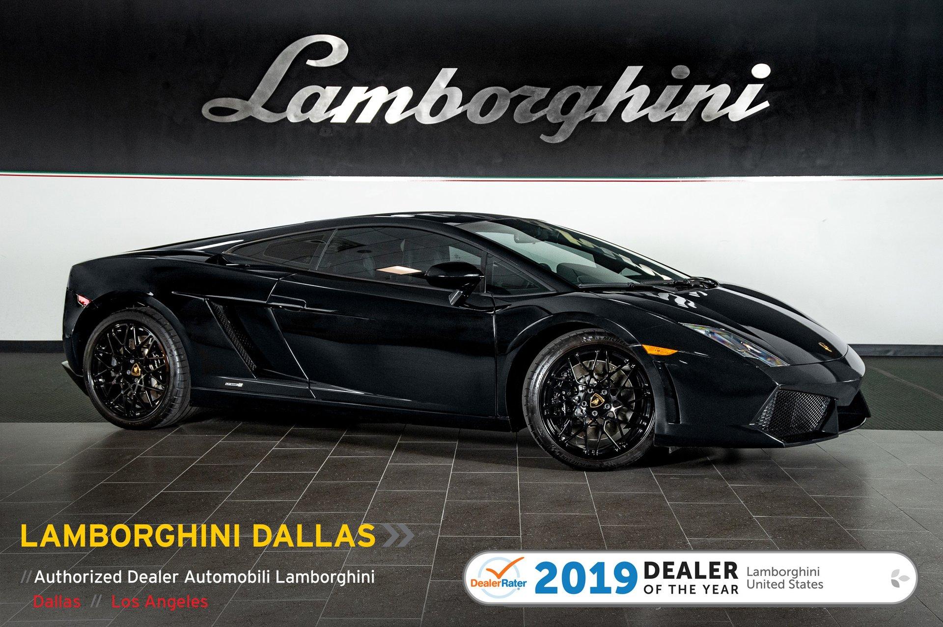 2012 Lamborghini Gallardo Lp 550 2 Black Edition Coupe For Sale