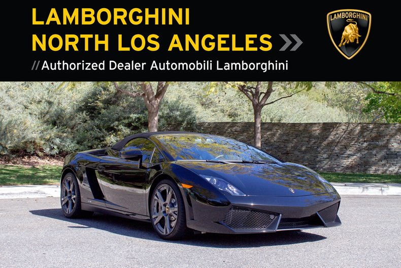 2014 Lamborghini Gallardo LP550-2 Spyder For Sale
