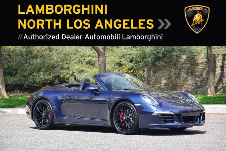 2016 Porsche 911 GTS CABRIOLET For Sale