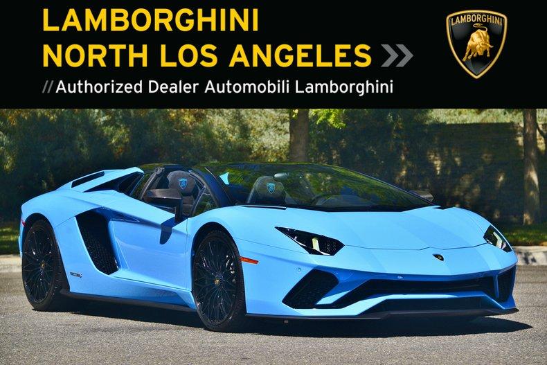2019 Lamborghini Aventador S Roadster For Sale 106408 Mcg