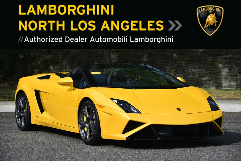 2014 Lamborghini Gallardo 560-4 Spyder For Sale
