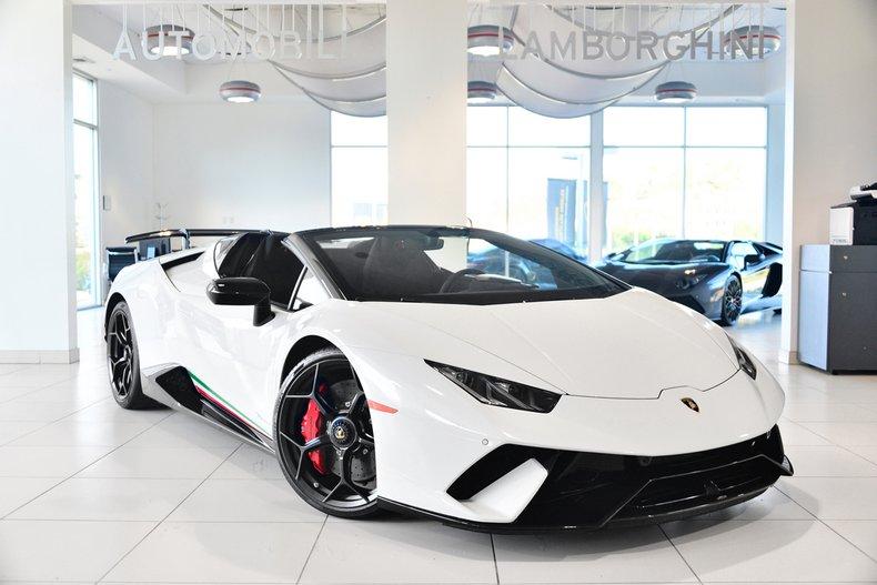 2018 Lamborghini Huracan Performante Spyder For Sale