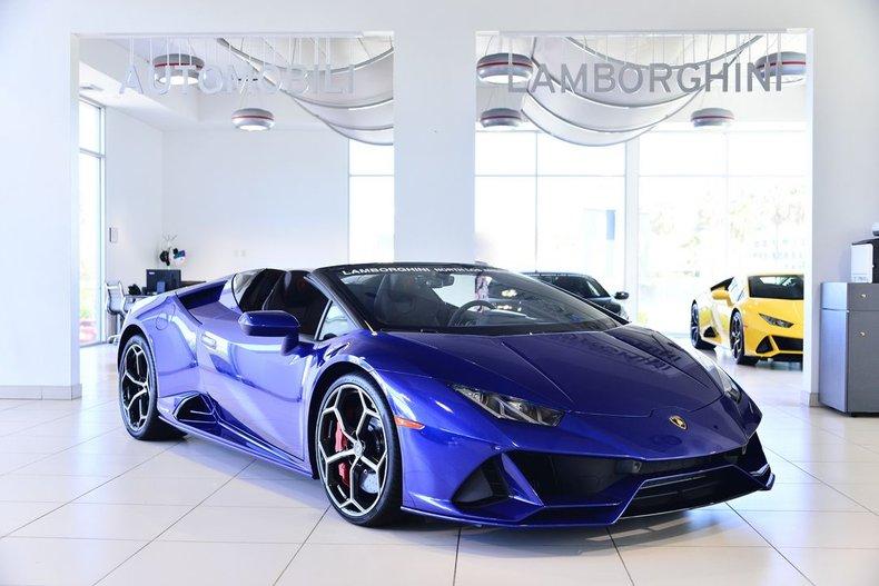 2020 Lamborghini Huracan EVO Spyder For Sale