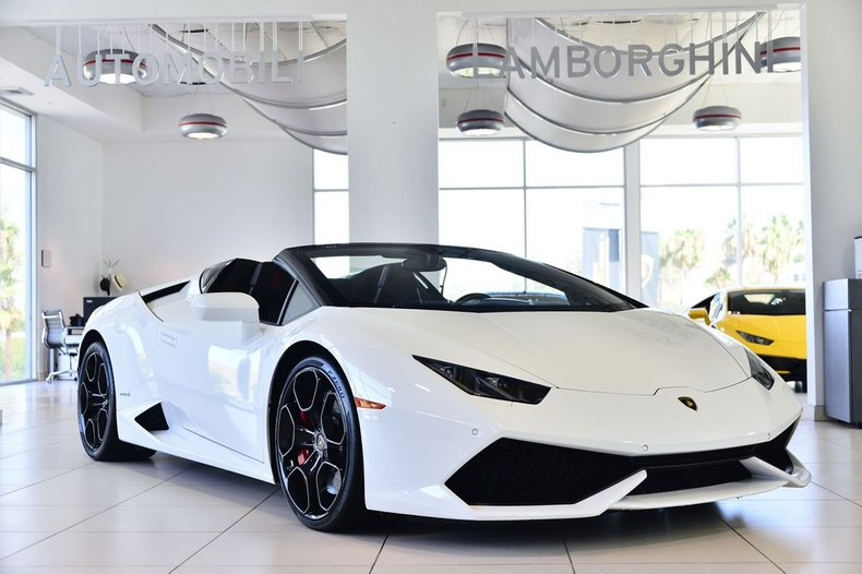 2017 Lamborghini Huracan LP610-4 Spyder For Sale