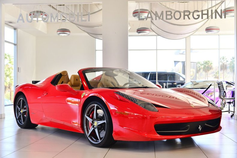 2014 Ferrari 458 Italia Spider For Sale