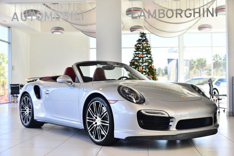 2016 Porsche 911 Turbo For Sale