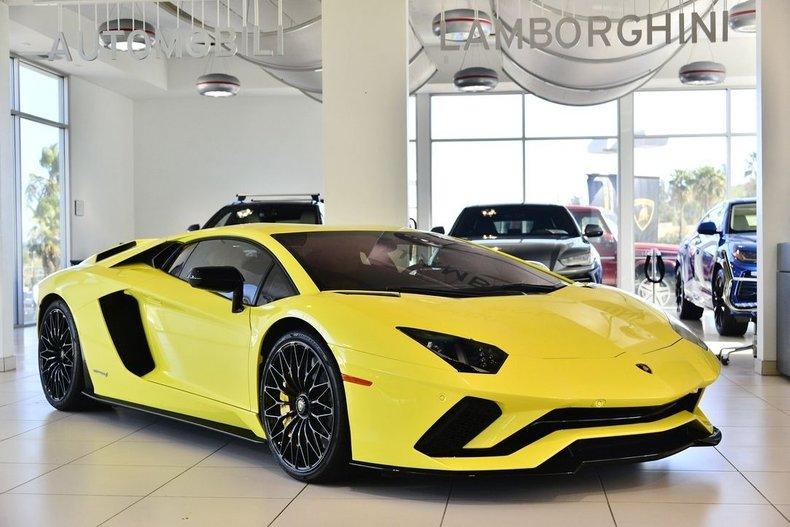 2018 Lamborghini Aventador S For Sale