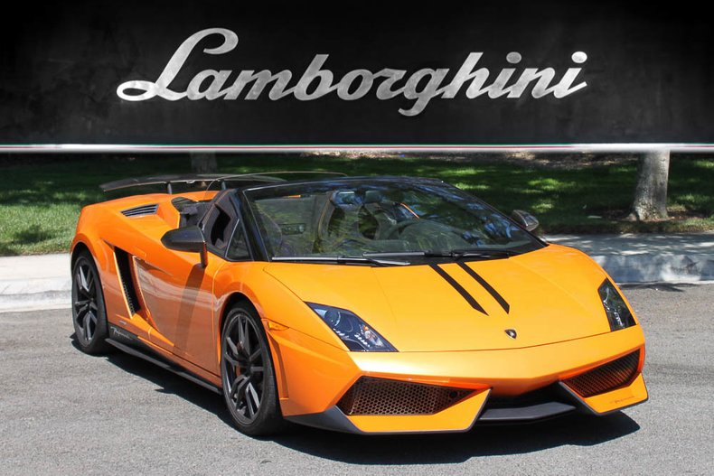 2012 Lamborghini Gallardo LP570-4 Performante For Sale