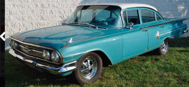 1960 Chevrolet Bel Air For Sale