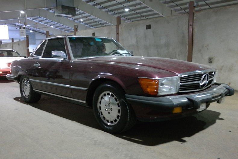 1986 Mercedes-Benz 560SL For Sale