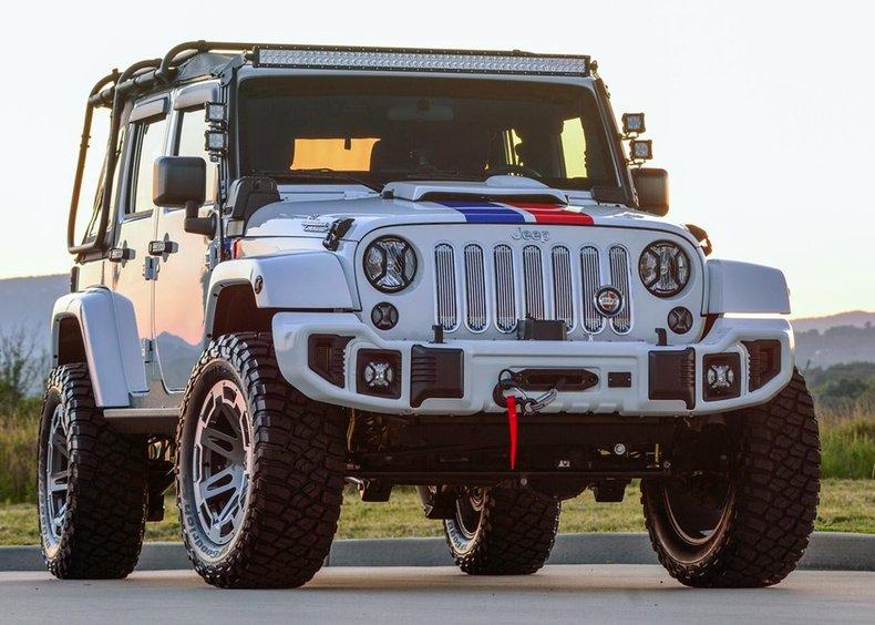 2017 Jeep Hurst Commando Wrangler Unlimited For Sale