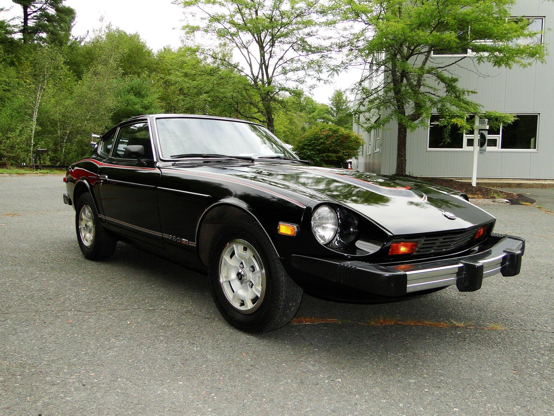 1978 datsun 280z black pearl