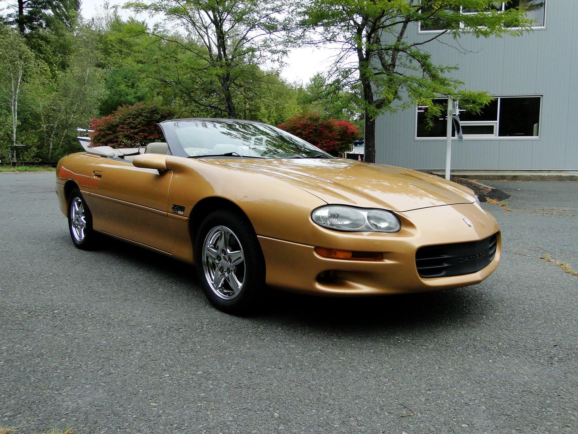 1998 chevrolet camaro z28 convertible