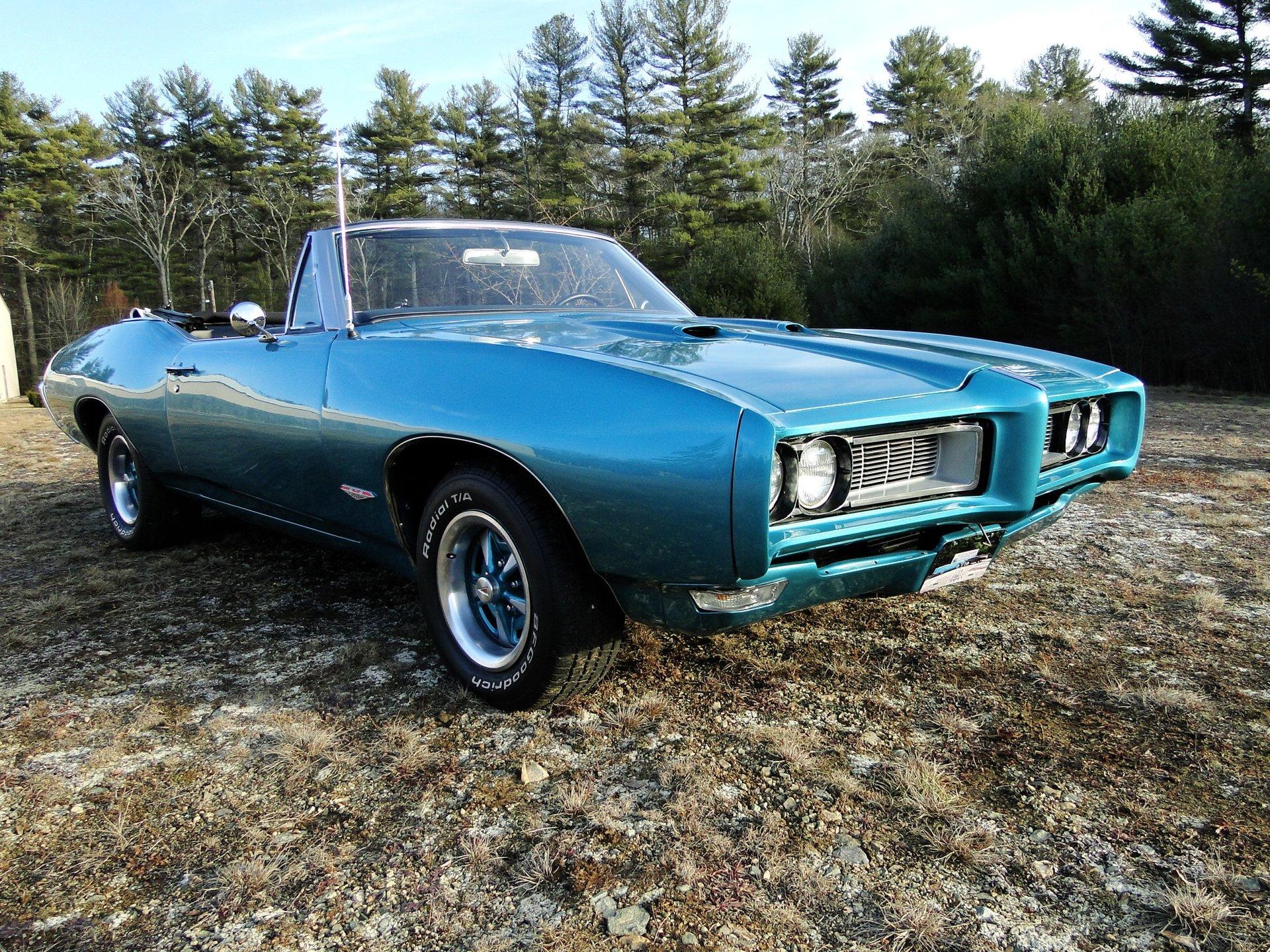 1968 pontiac gto tribute