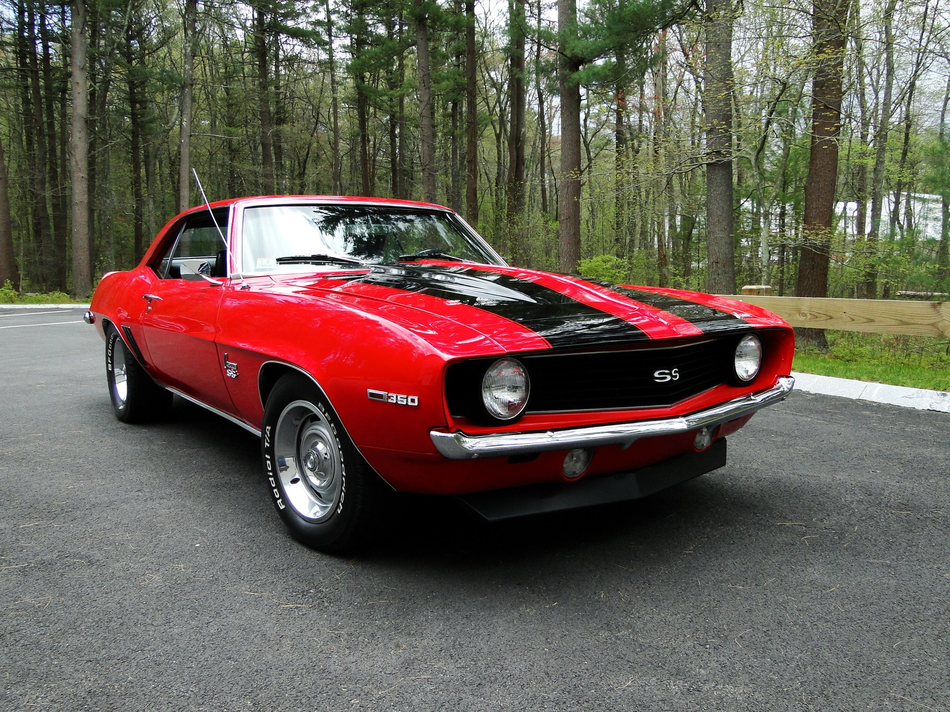 1969 chevrolet camaro ss tribute