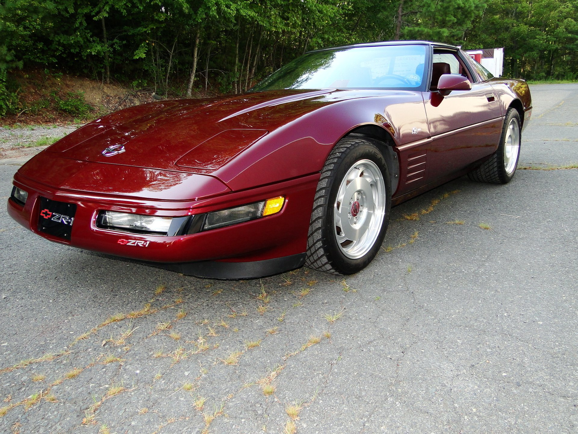 1993 chevrolet corvette zr1 anniversary package