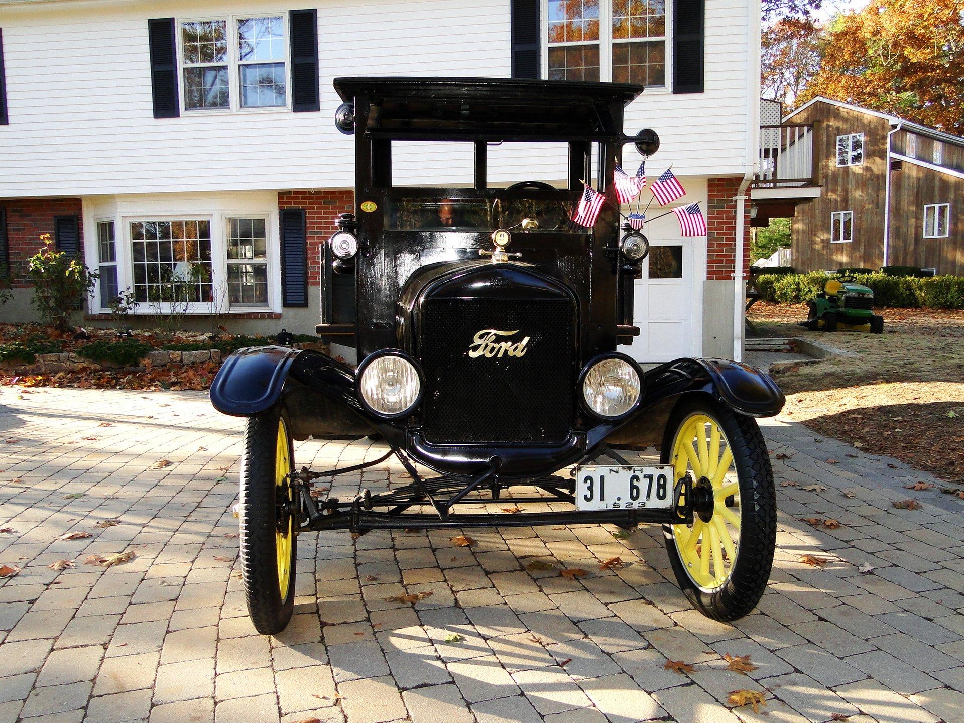 1923 ford model tt truck
