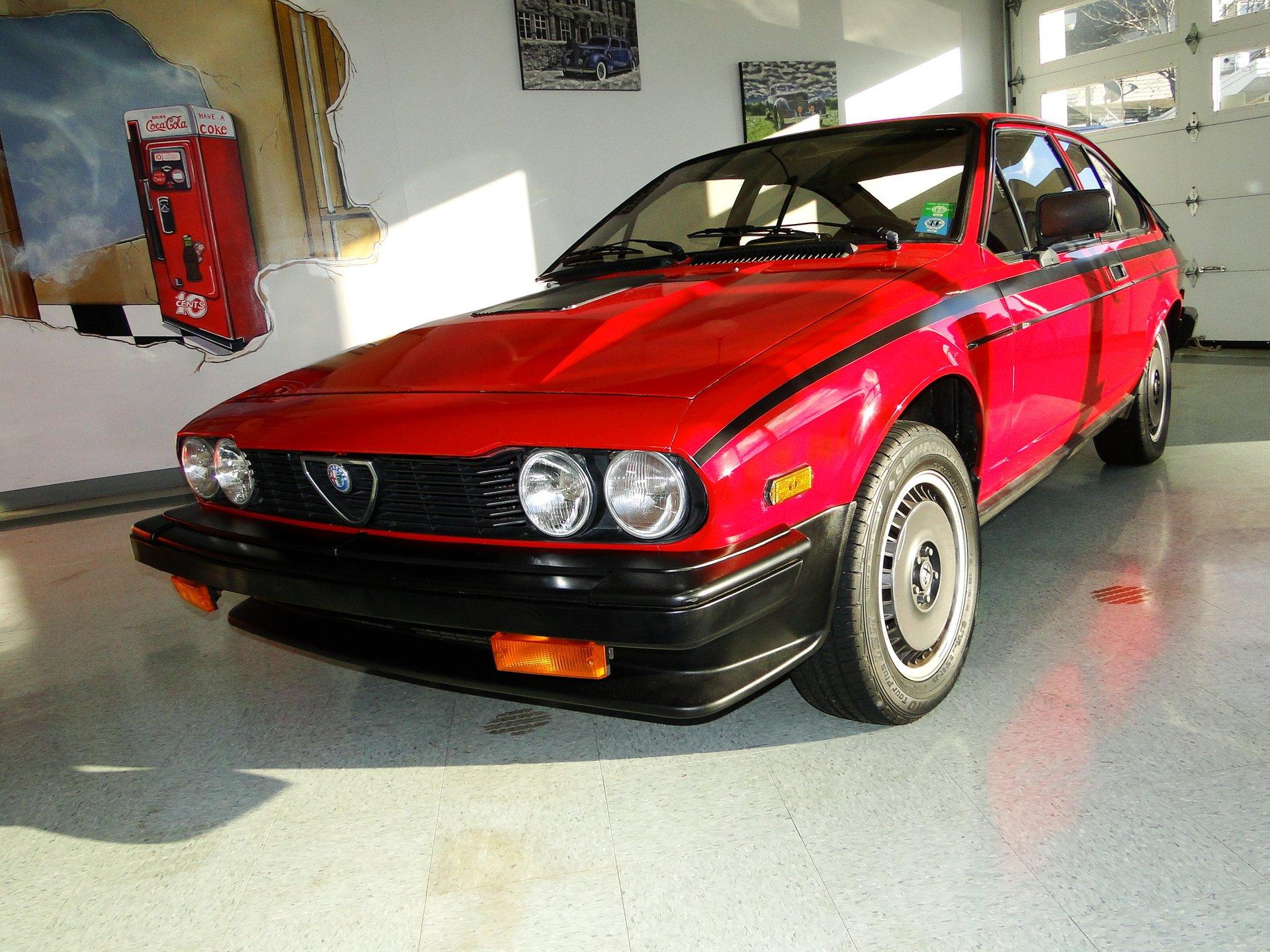 1982 alfa romeo gtv6 balocco s e
