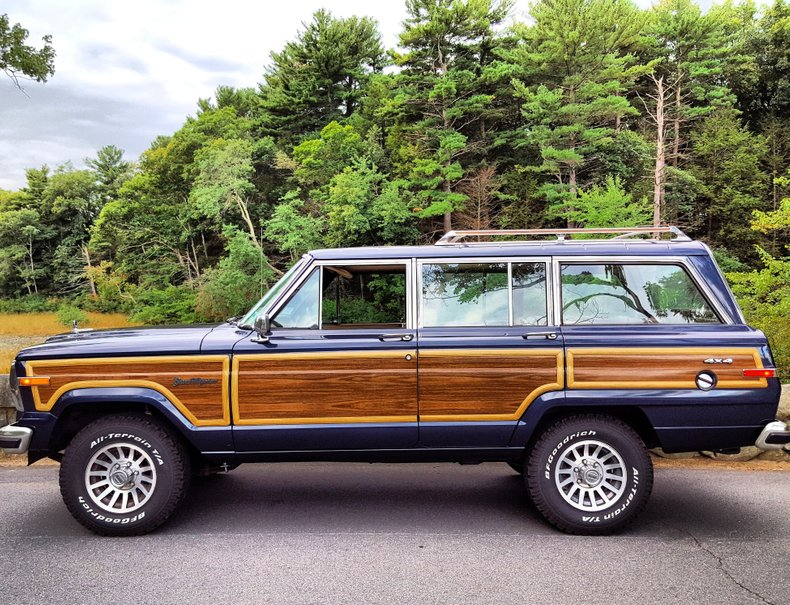 Jeep Grand Wagoneer For Sale >> 1991 Jeep Grand Wagoneer For Sale 83196 Mcg