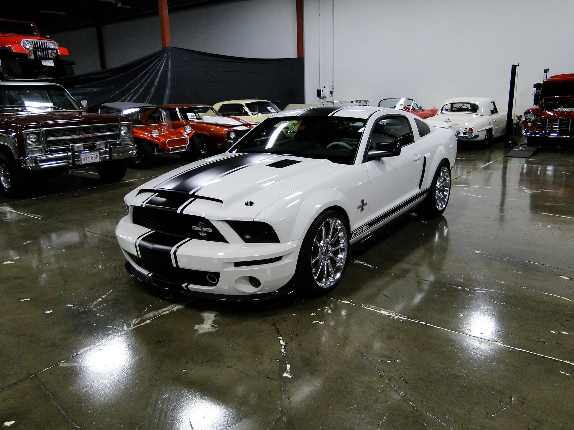 2008 ford shelby gt500 super snake