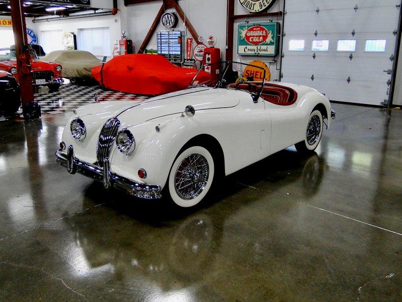 1956 Jaguar XK140 1