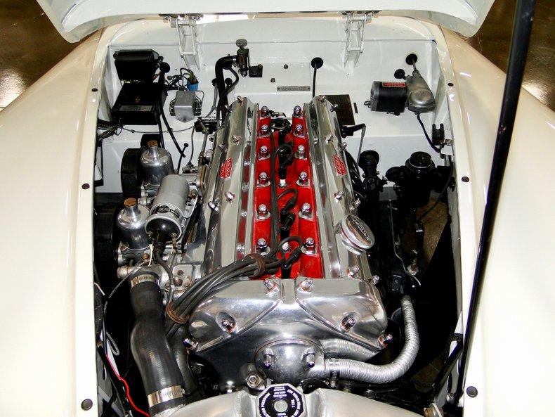 1956 Jaguar XK140 11