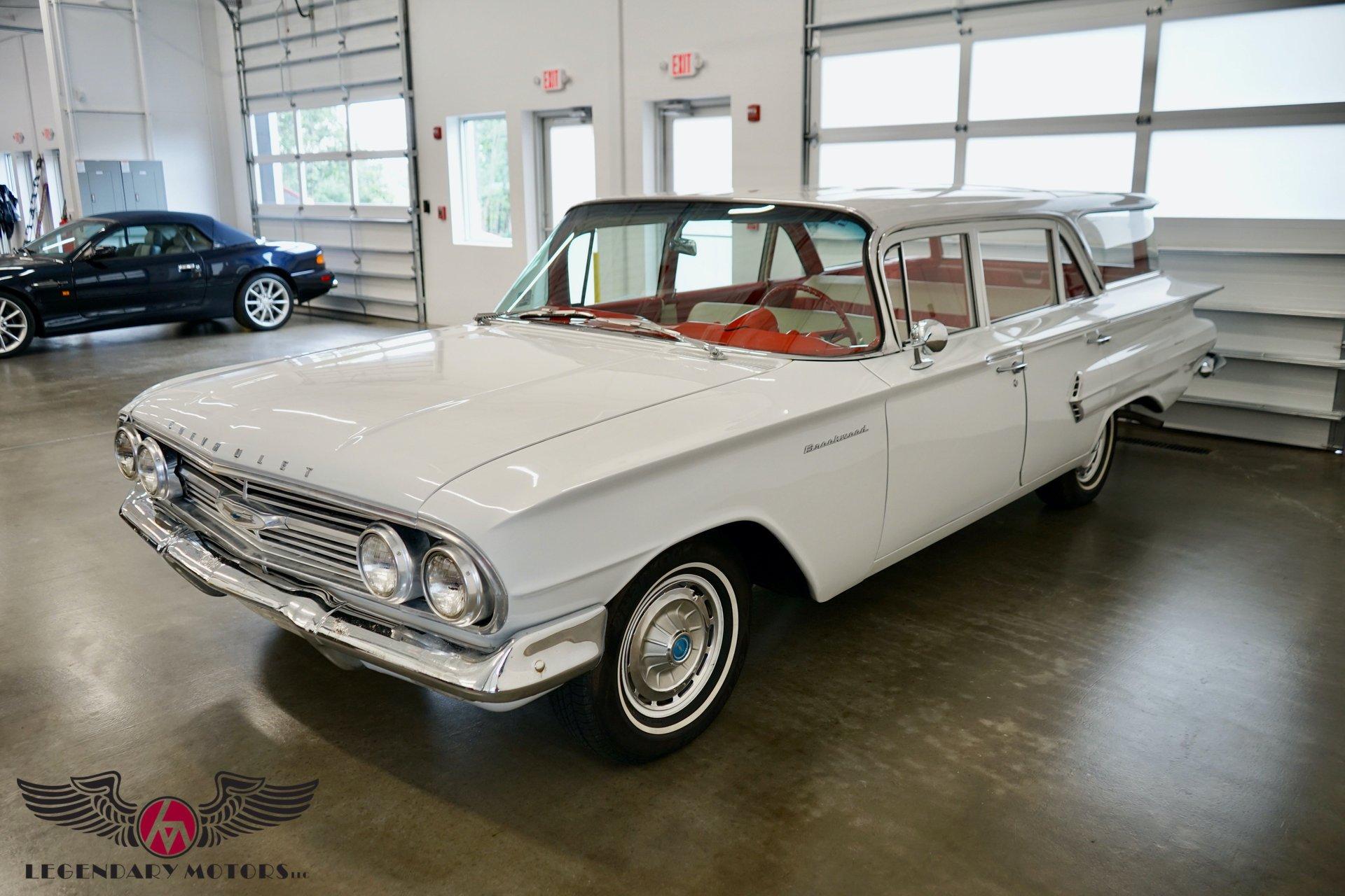 1960 chevrolet brookwood station wagon