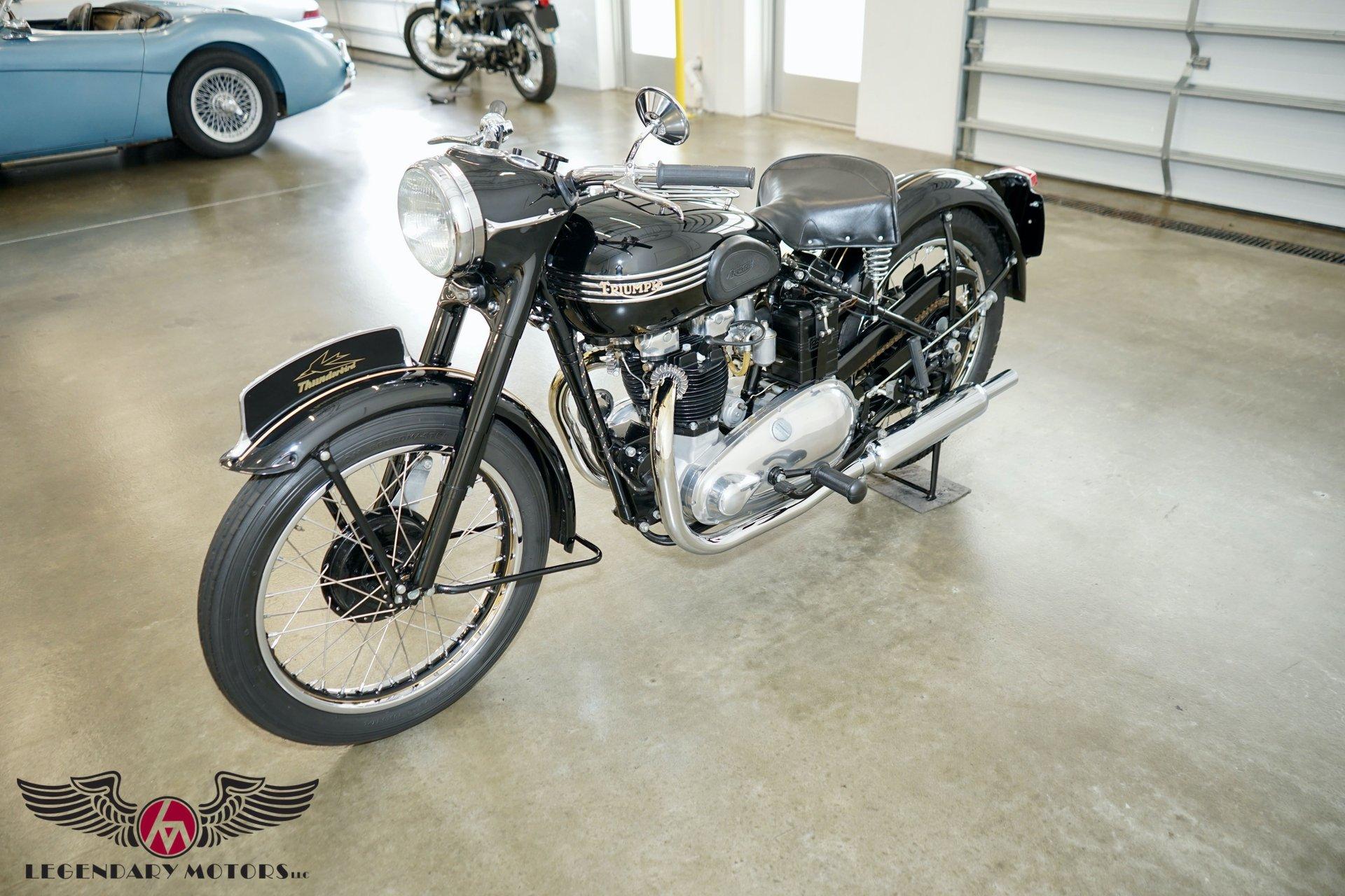 1952 triumph 6t thunderbird