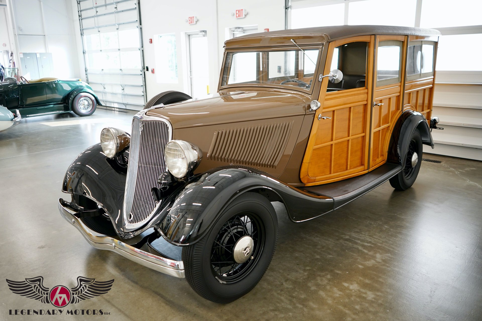 1933 ford model 40 woodie wagon