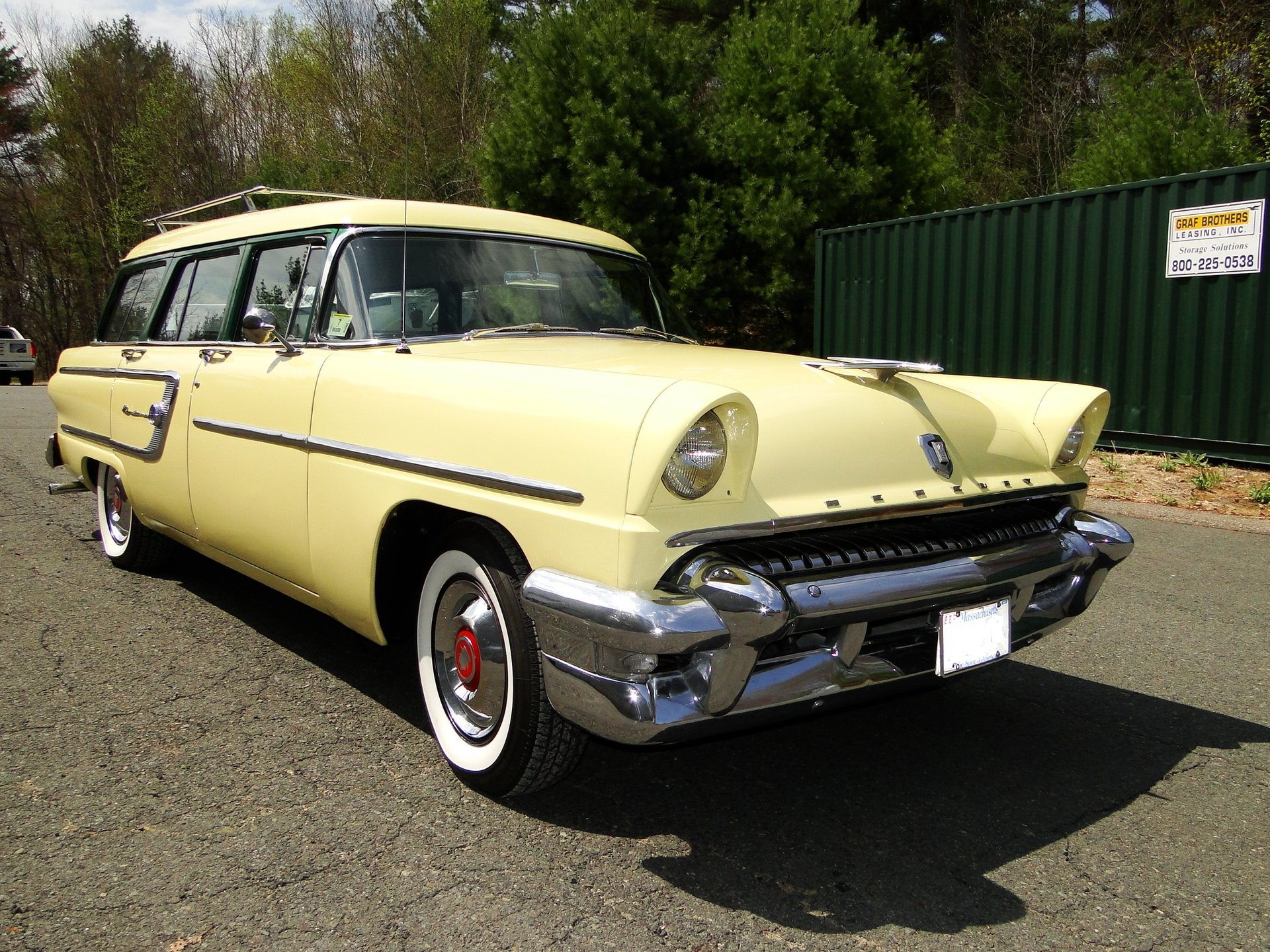 1955 mercury monterey station wagon