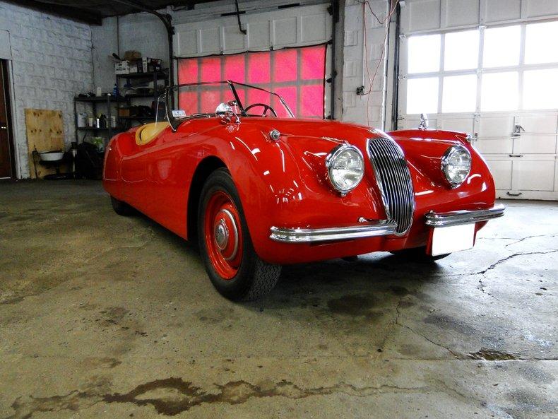 1953 Jaguar Xk120 Legendary Motors Classic Cars Muscle Cars