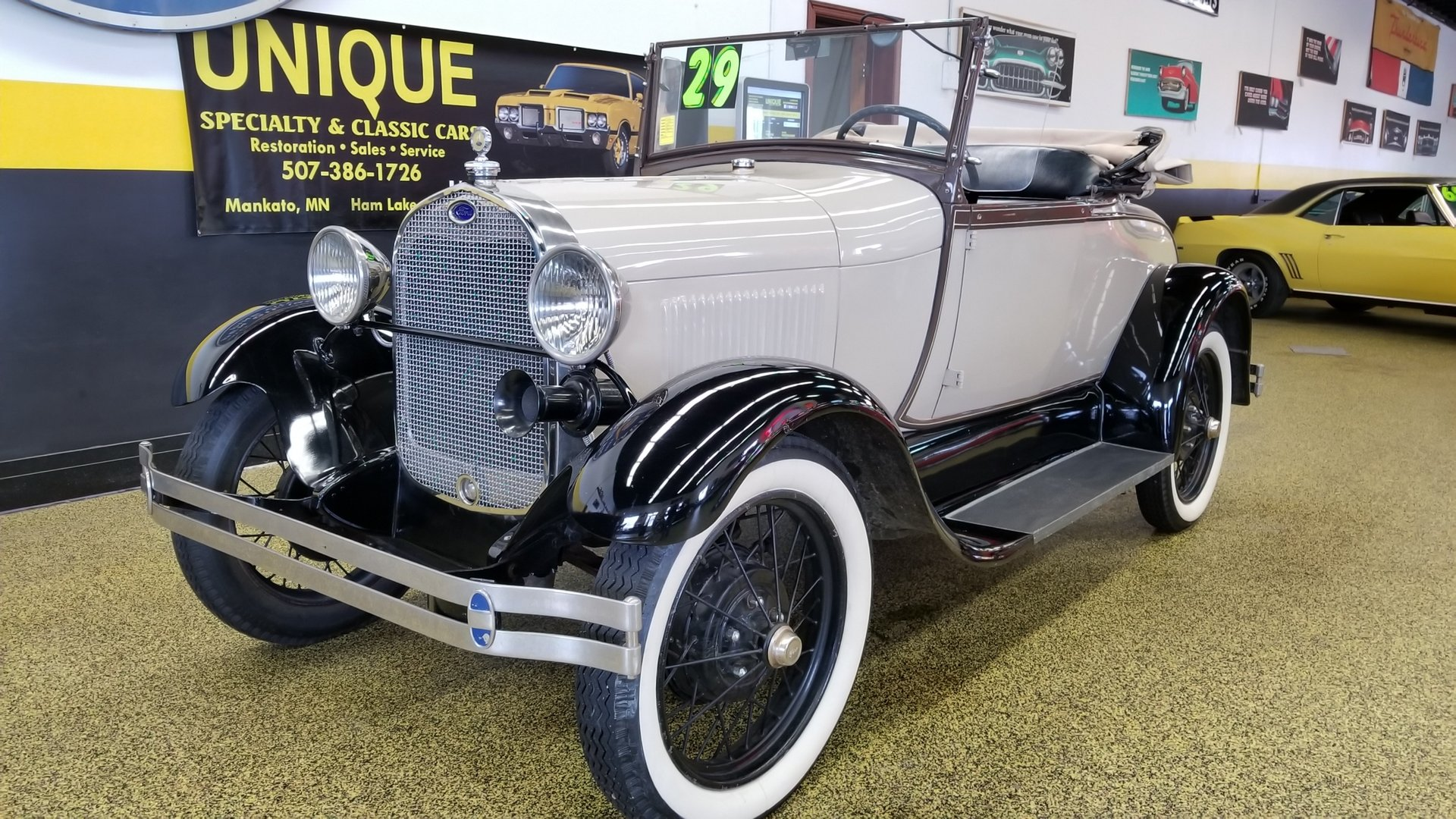 1929 ford model a roadster w rumbleseat unique specialty classic cars