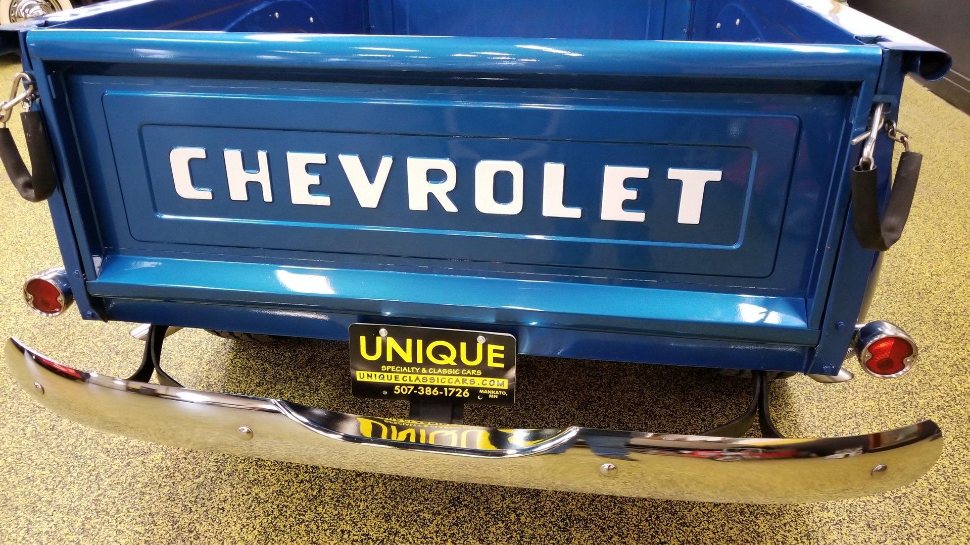 1954 Chevrolet 3100 5 Window Pickup For Sale 106509 Mcg Truck