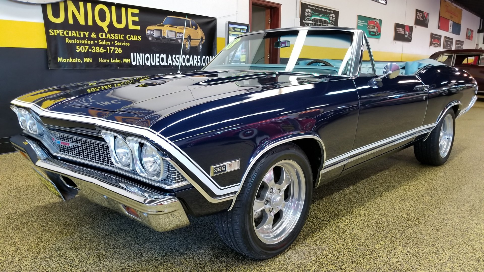 1968 Chevrolet Chevelle Convertible For Sale 64902 Motorious