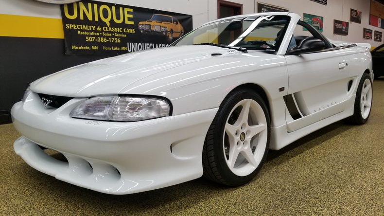 1996 Ford Mustang Saleen S281 Supercharged Convertible For Sale