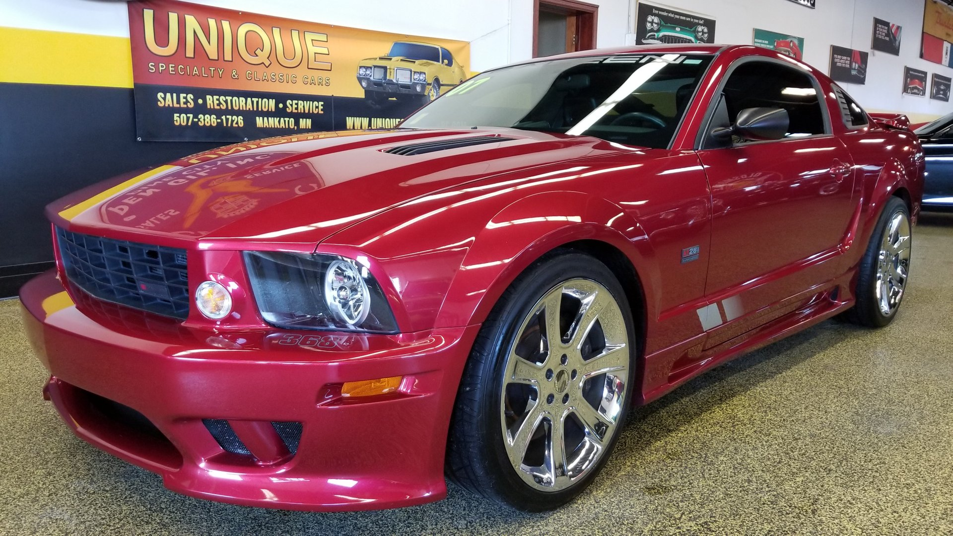 2007 ford mustang saleen s281 supercharged coupe for sale 63782