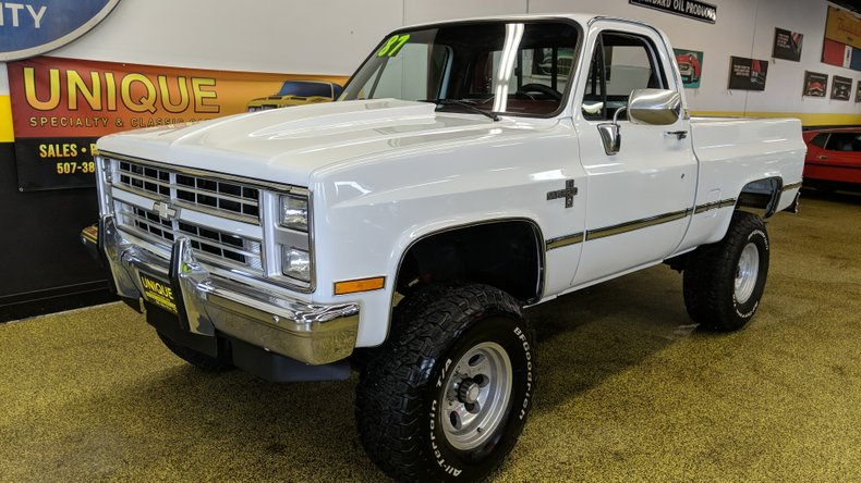 1987 Chevrolet K10