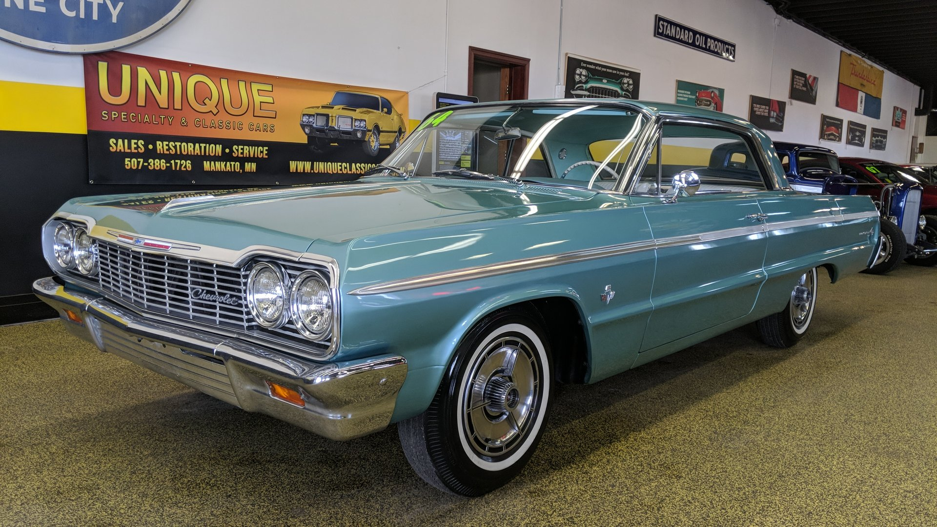 1964 Chevrolet Impala Ss 409 For Sale 66035 Motorious