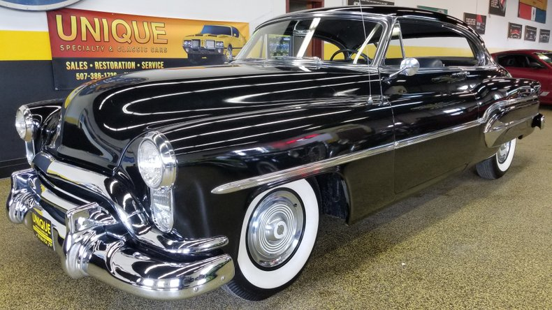 1951 oldsmobile 98 holiday 2dr coupe